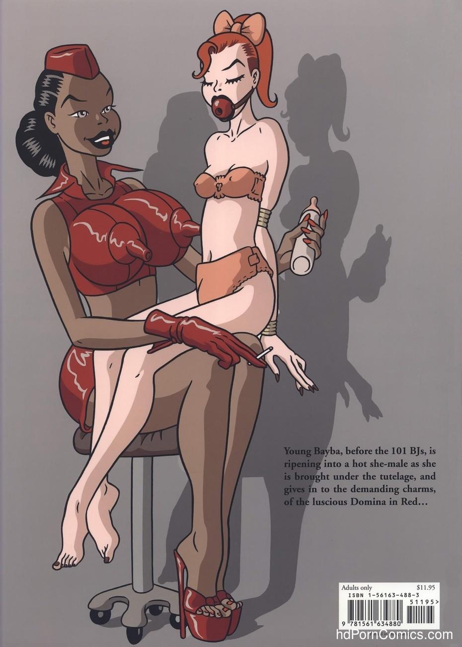 Domina In Red Sex Comic