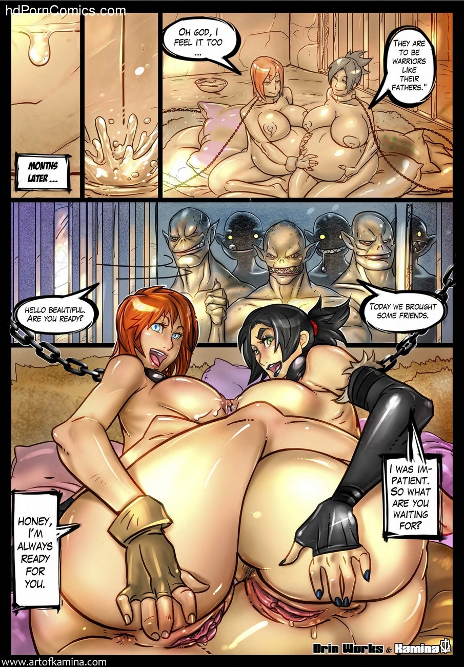 Dragon Age Origins comic porn