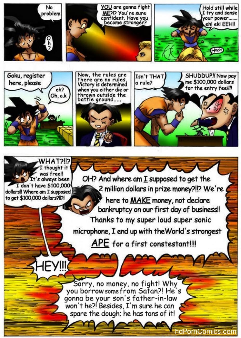 Dragon Ball - Dirty Fighting 4 free sex comic