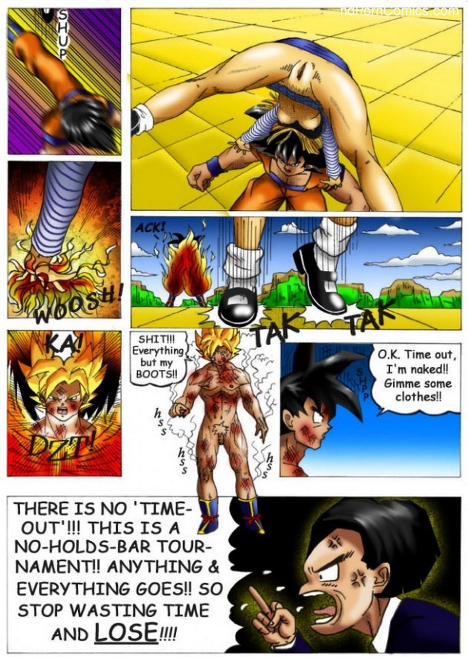 Dragon Ball - Dirty Fighting 6 free sex comic