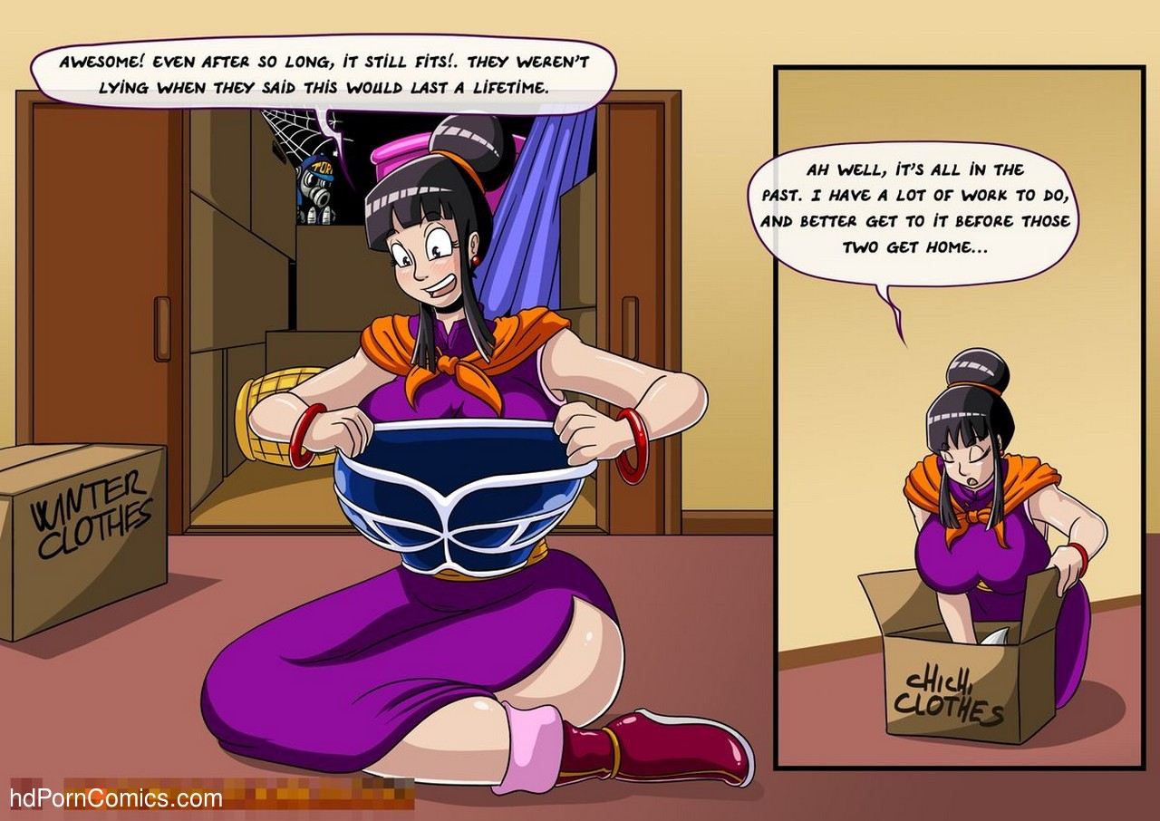 Dragon Ball Z - General Cleaning 5 free sex comic
