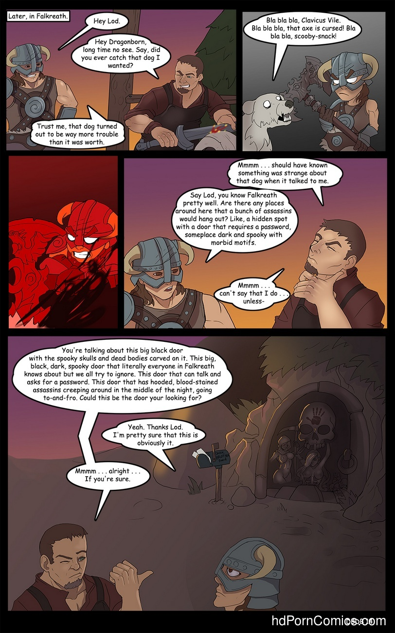 Dragonborn And The Dark Brotherhood 15 free sex comic