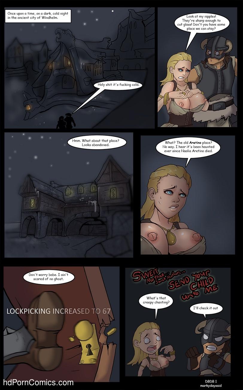 Dragonborn And The Dark Brotherhood 2 free sex comic