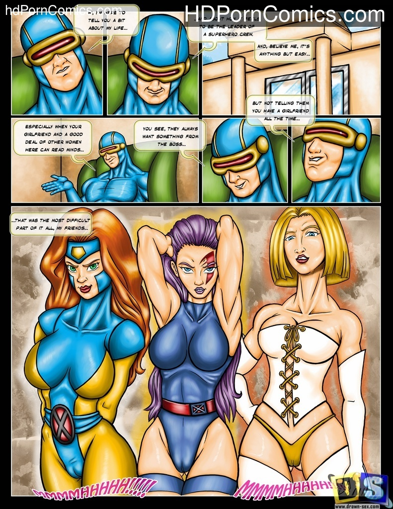 Drawn Sex- X-Men and Girls1 free sex comic