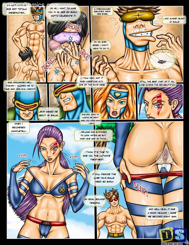 Drawn Sex- X-Men and Girls5 free sex comic