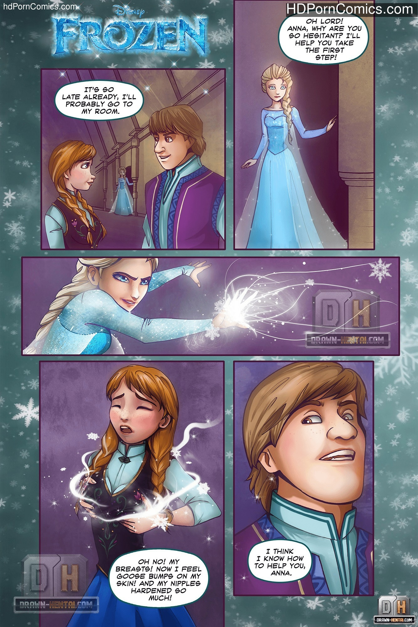 Disney toon sex DrawnHentai – Disney Frozen free Porn Comic