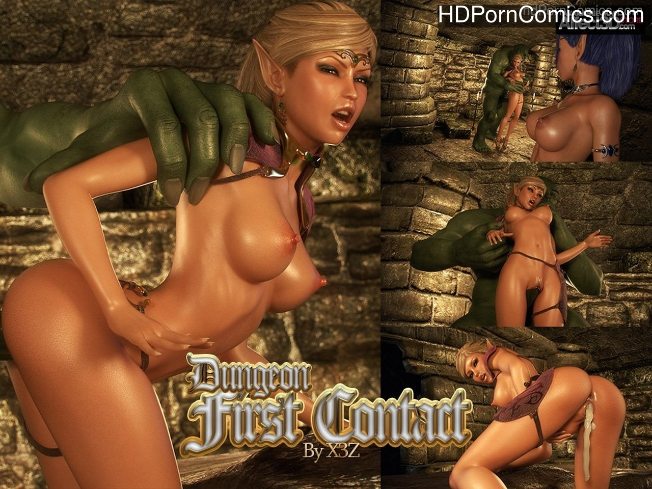 Dungeon 2 – First Contact Sex Comic