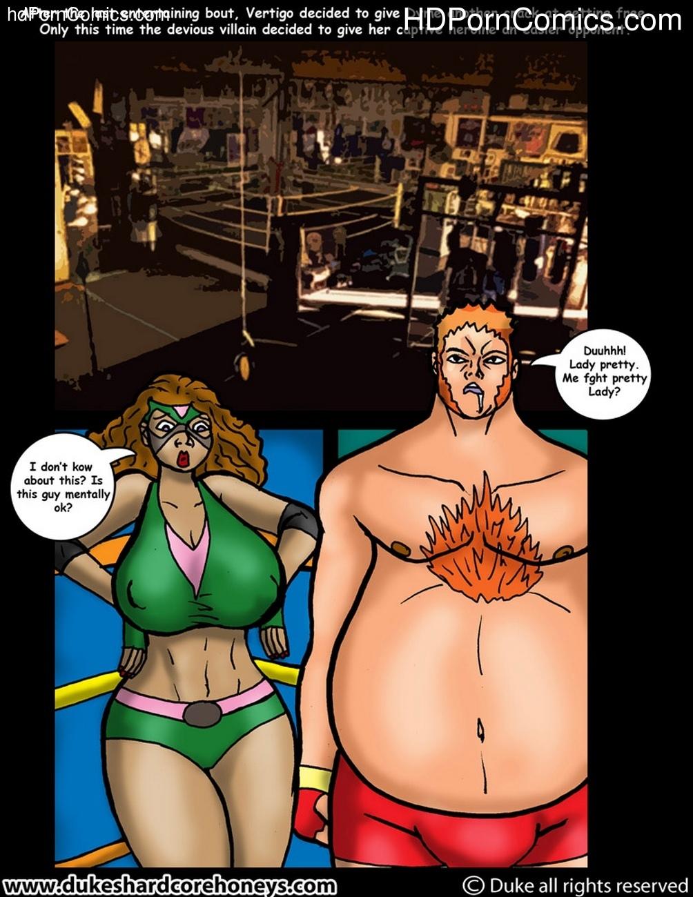 Dyme Vertigo's Cumback 4 comic porn