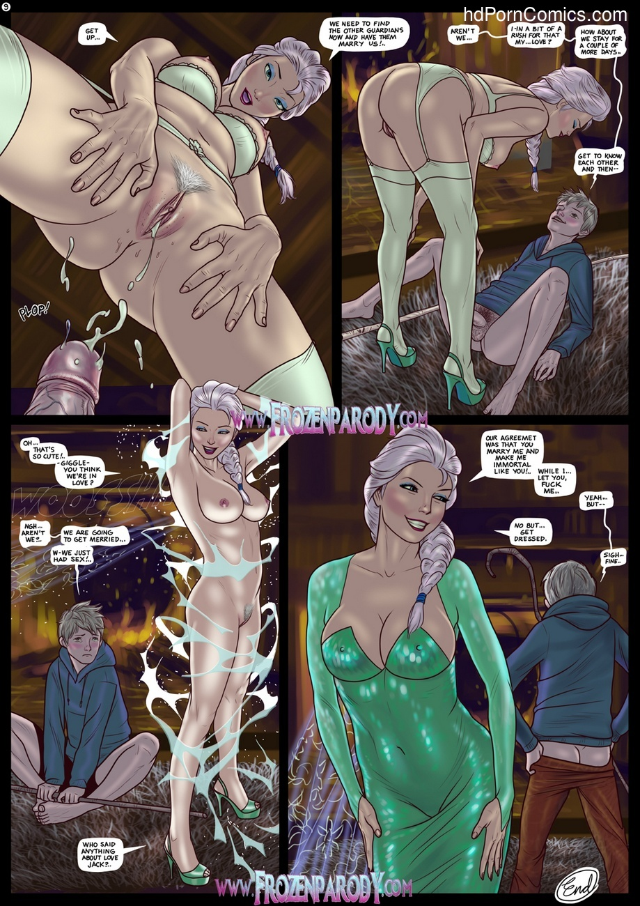 Elsa Meets Jack Sex Comic