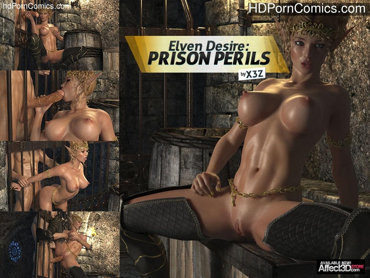 Elven Desire – Prison Perils 1 Sex Comic
