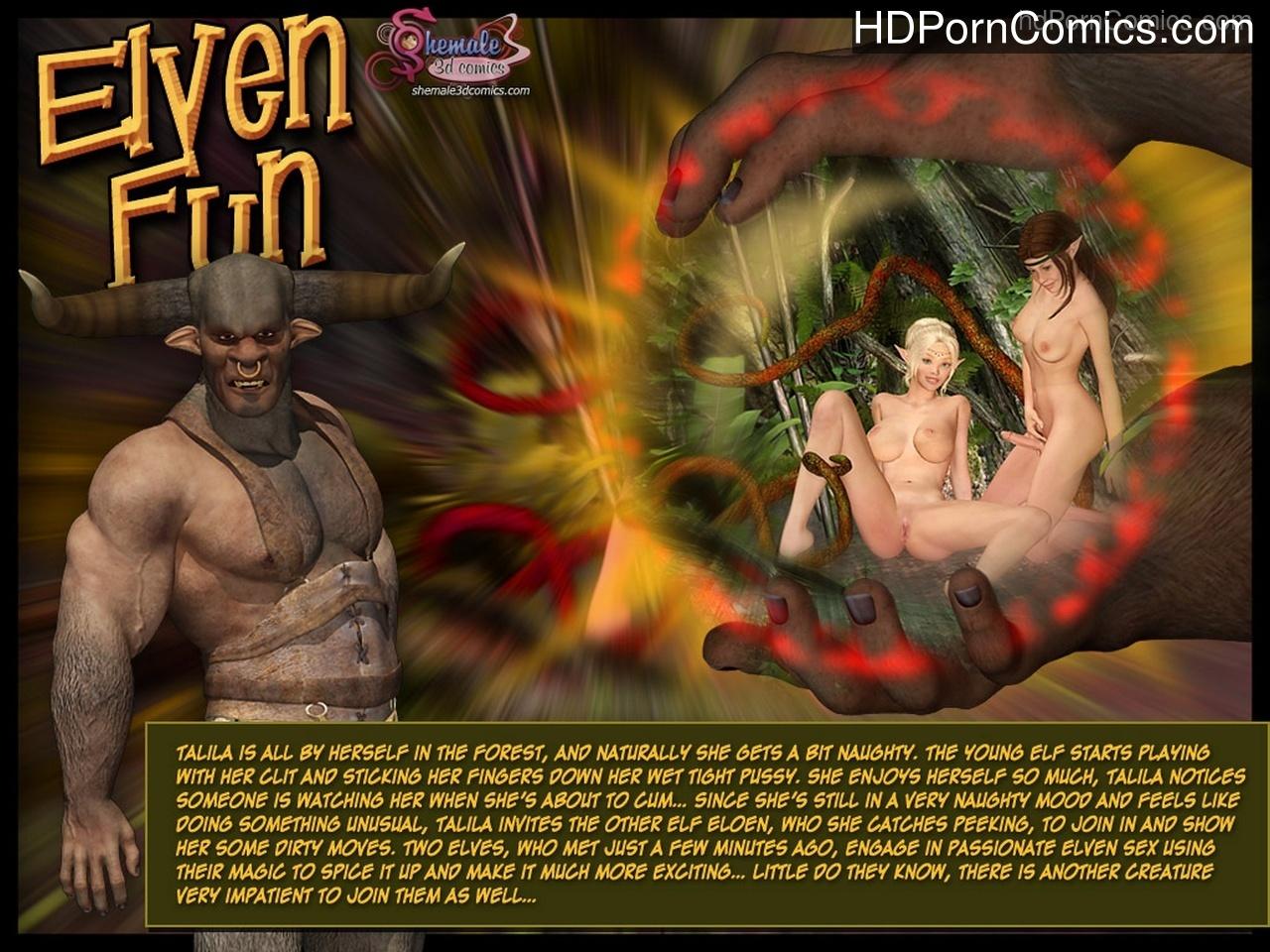 Elven-Fun1 free sex comic