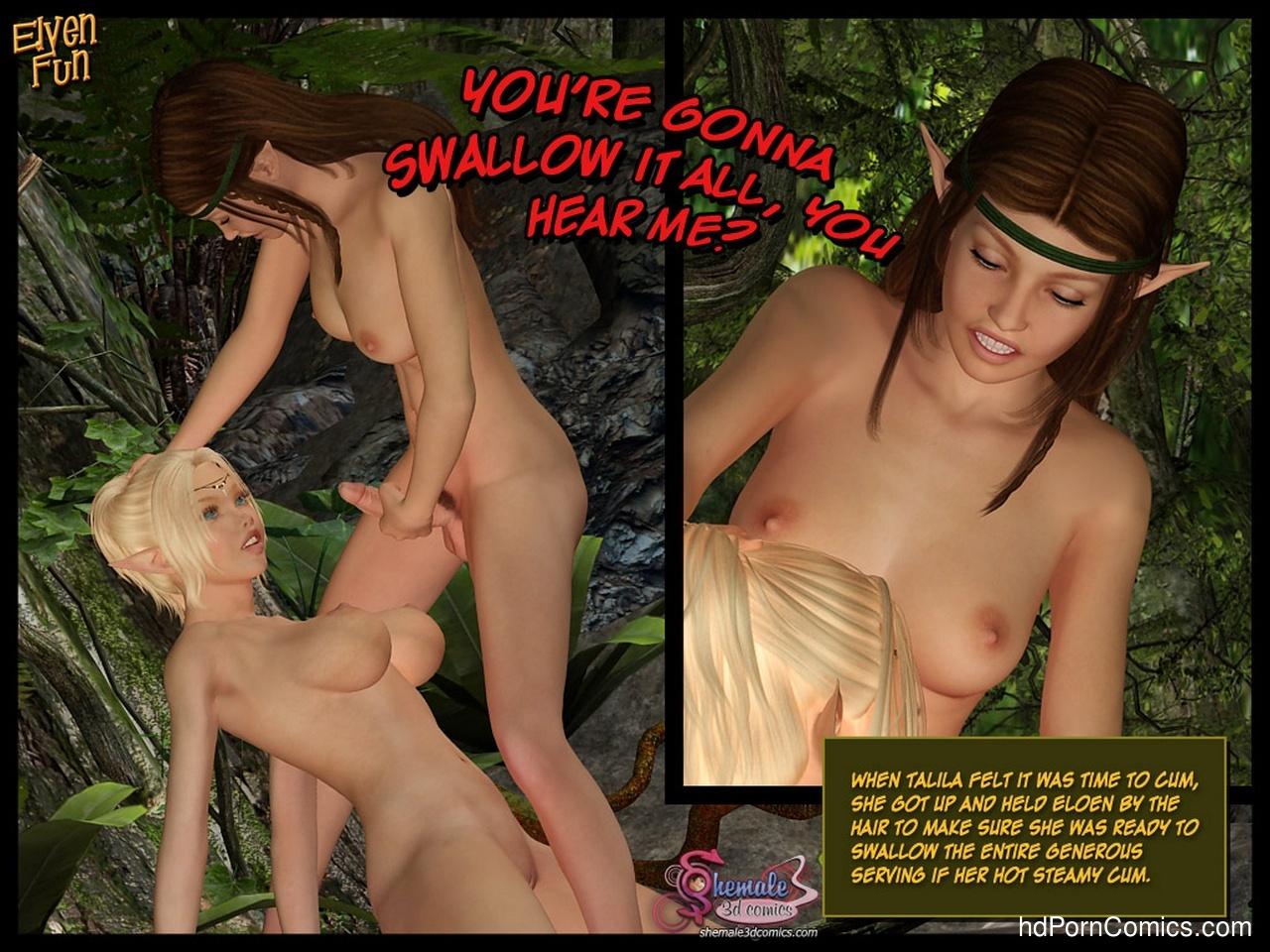Elven-Fun44 free sex comic