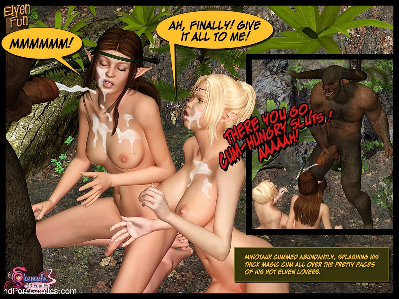 Elven Fun Sex Comic