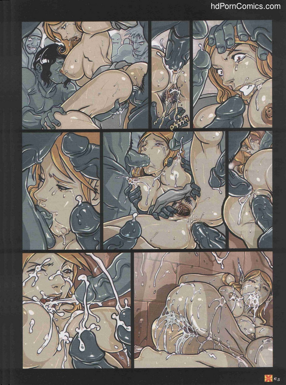 Elves Dreams 17 free sex comic