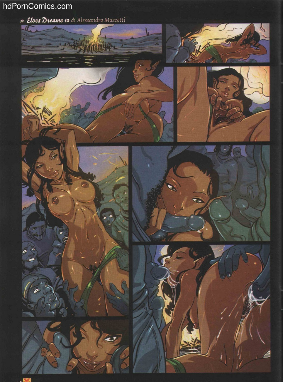 Elves Dreams 20 free sex comic