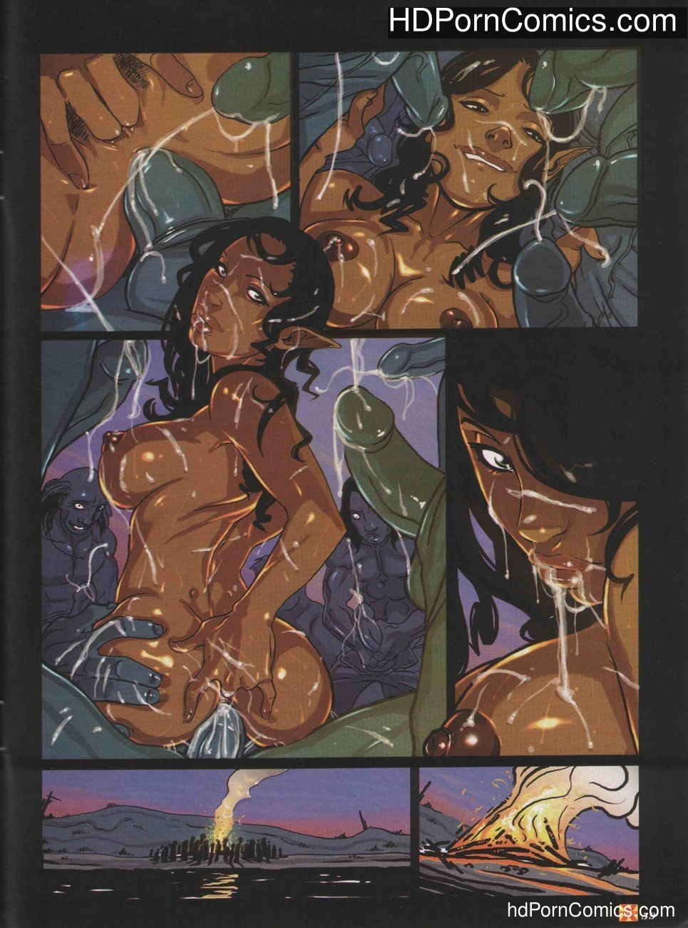 Elves Dreams 21 free sex comic