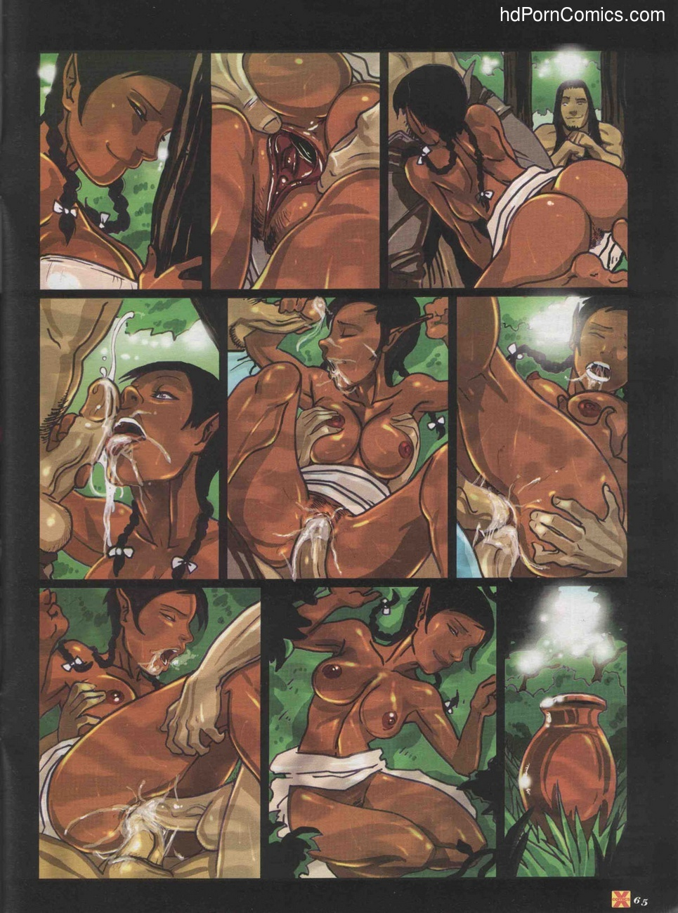Elves Dreams 23 free sex comic
