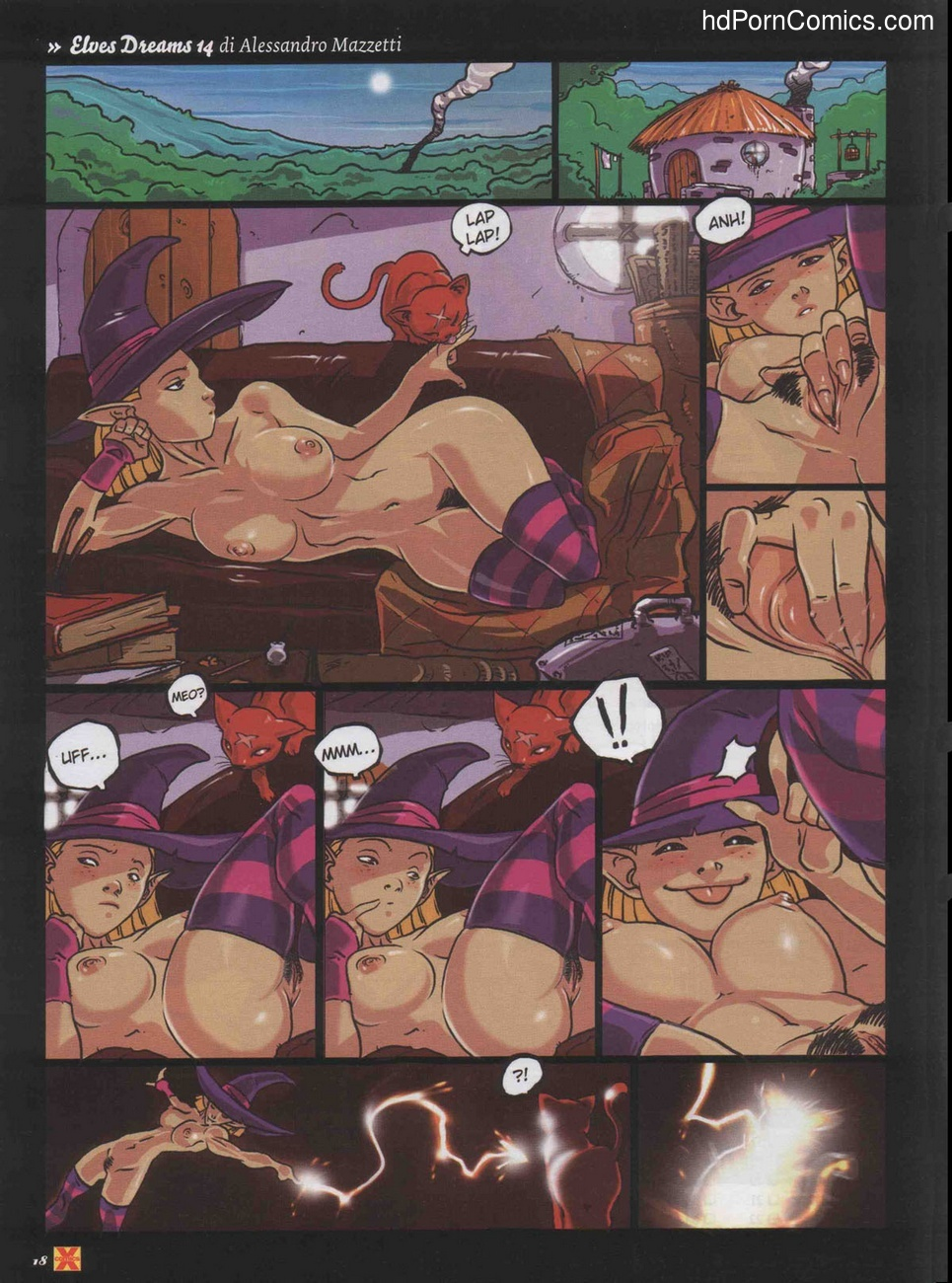 Elves Dreams 28 free sex comic