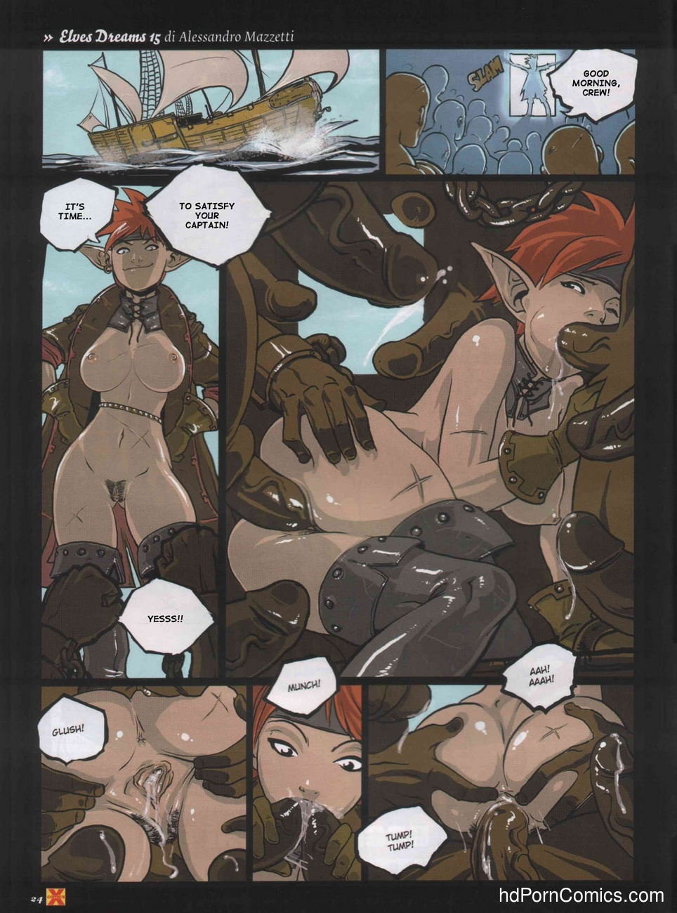Elves Dreams 30 free sex comic