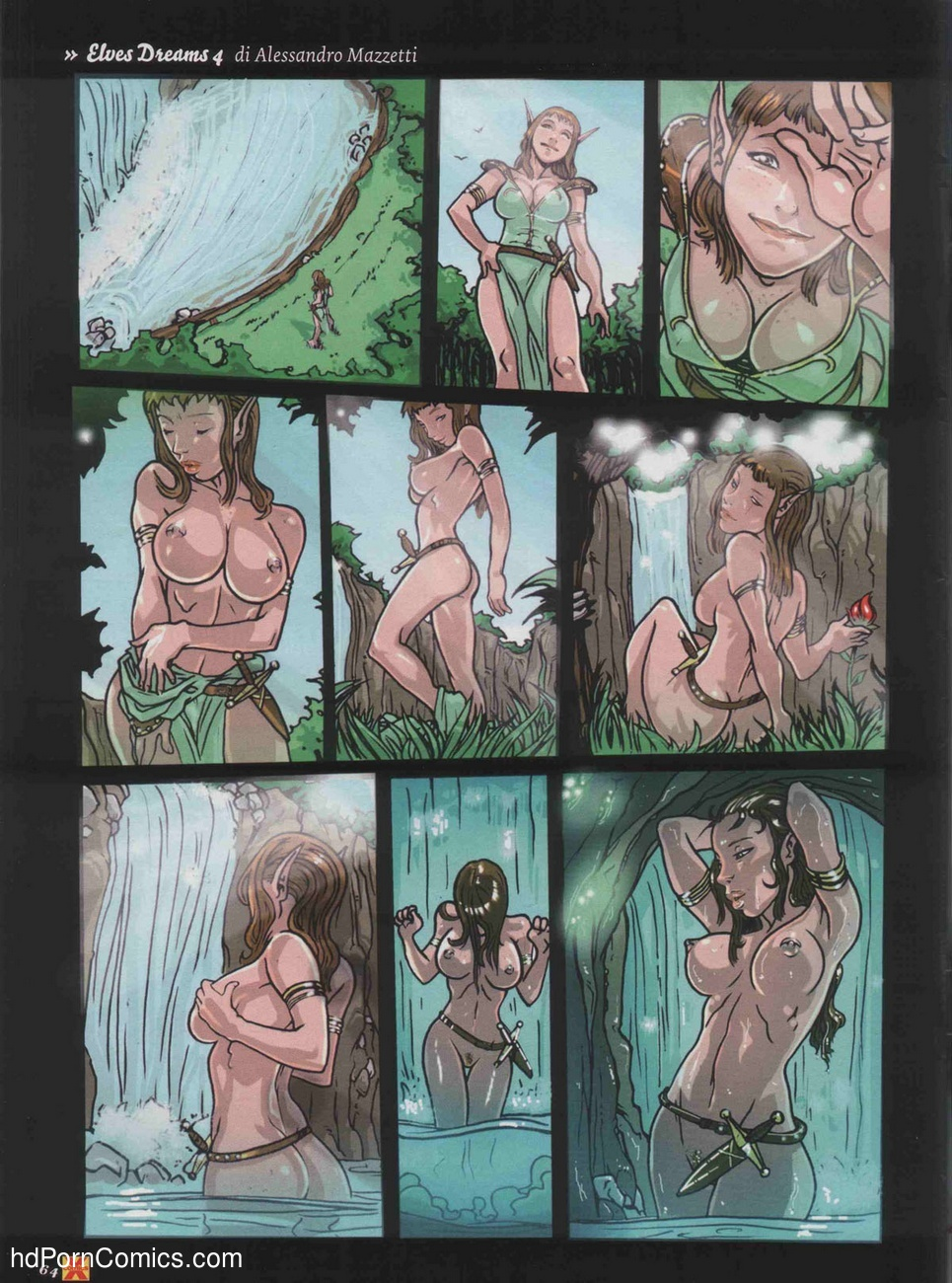 Elves Dreams 8 free sex comic