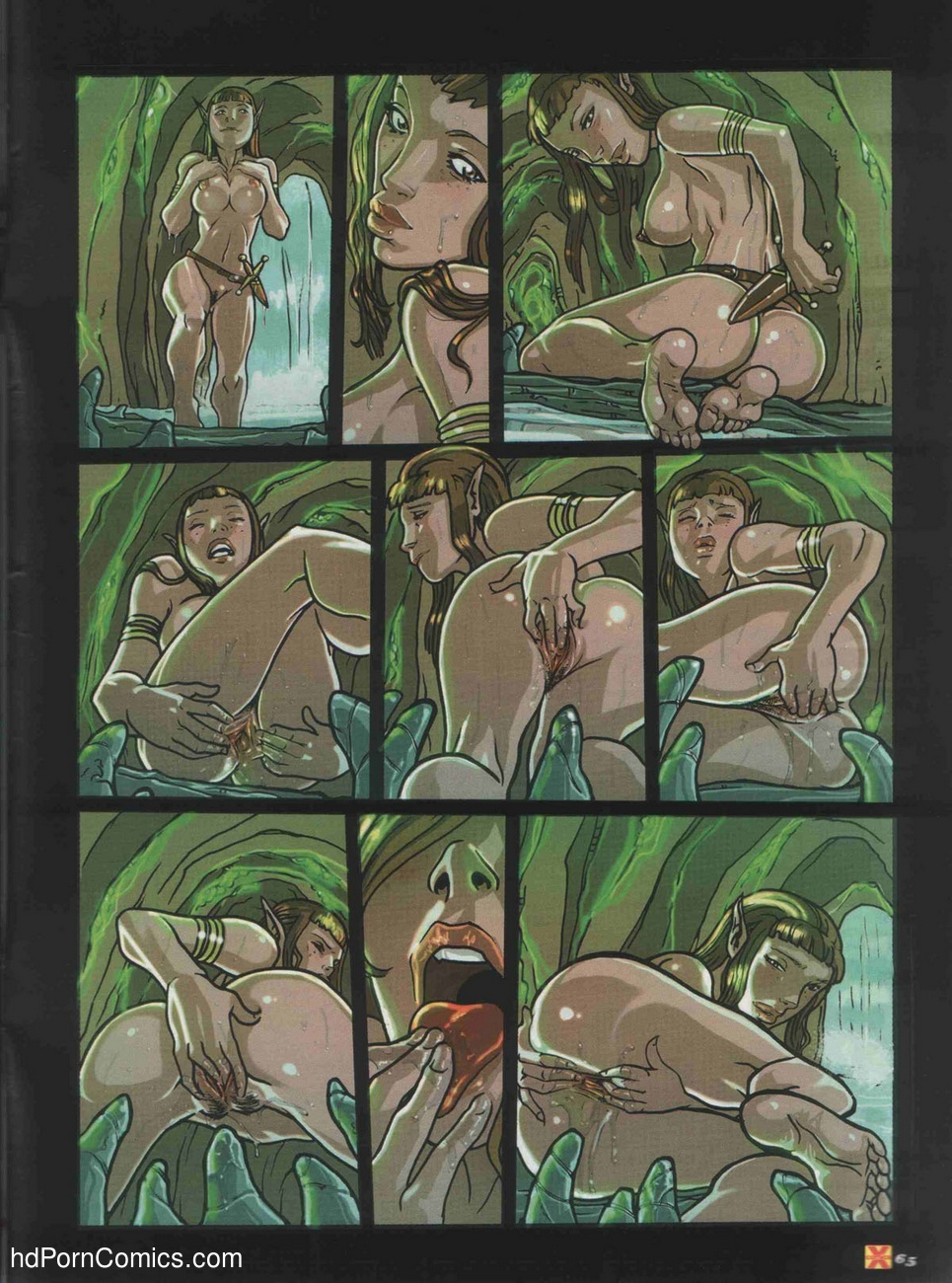 Elves Dreams 9 free sex comic