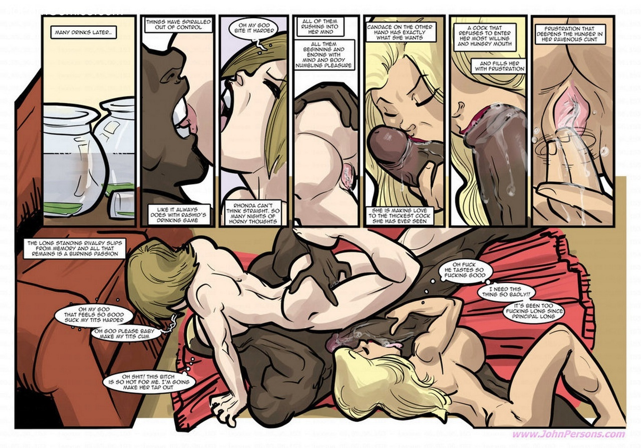 End Of A Rivalry 6 free sex comic