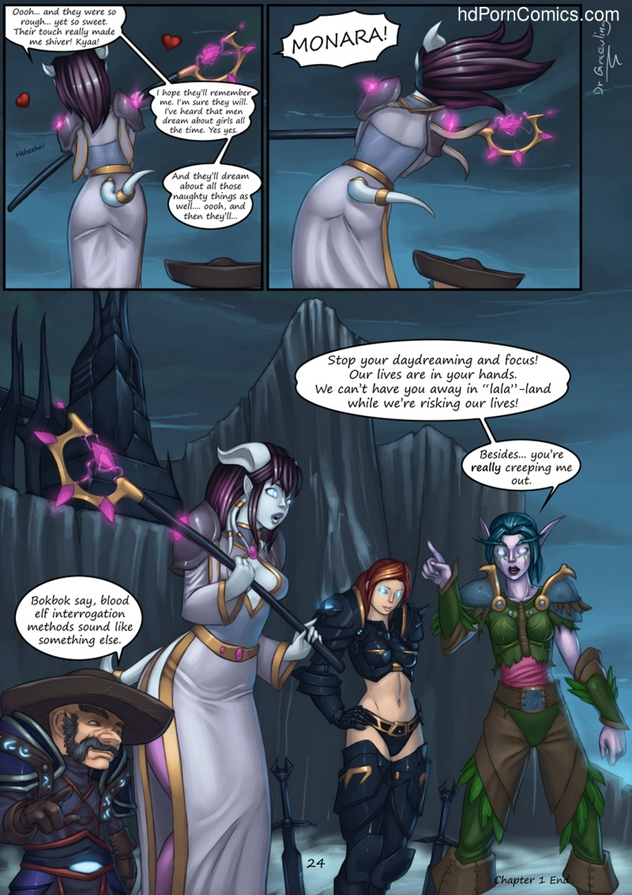 Epic Journeys & Random Encounters 1 – Eversong Interrogation Sex Comic