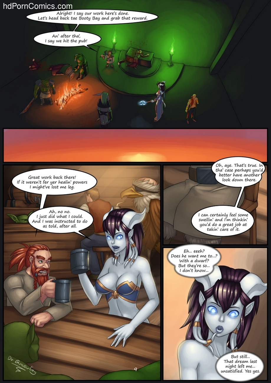 Epic Journeys & Random Encounters 2 - Booty Bay Call 10 free sex comic