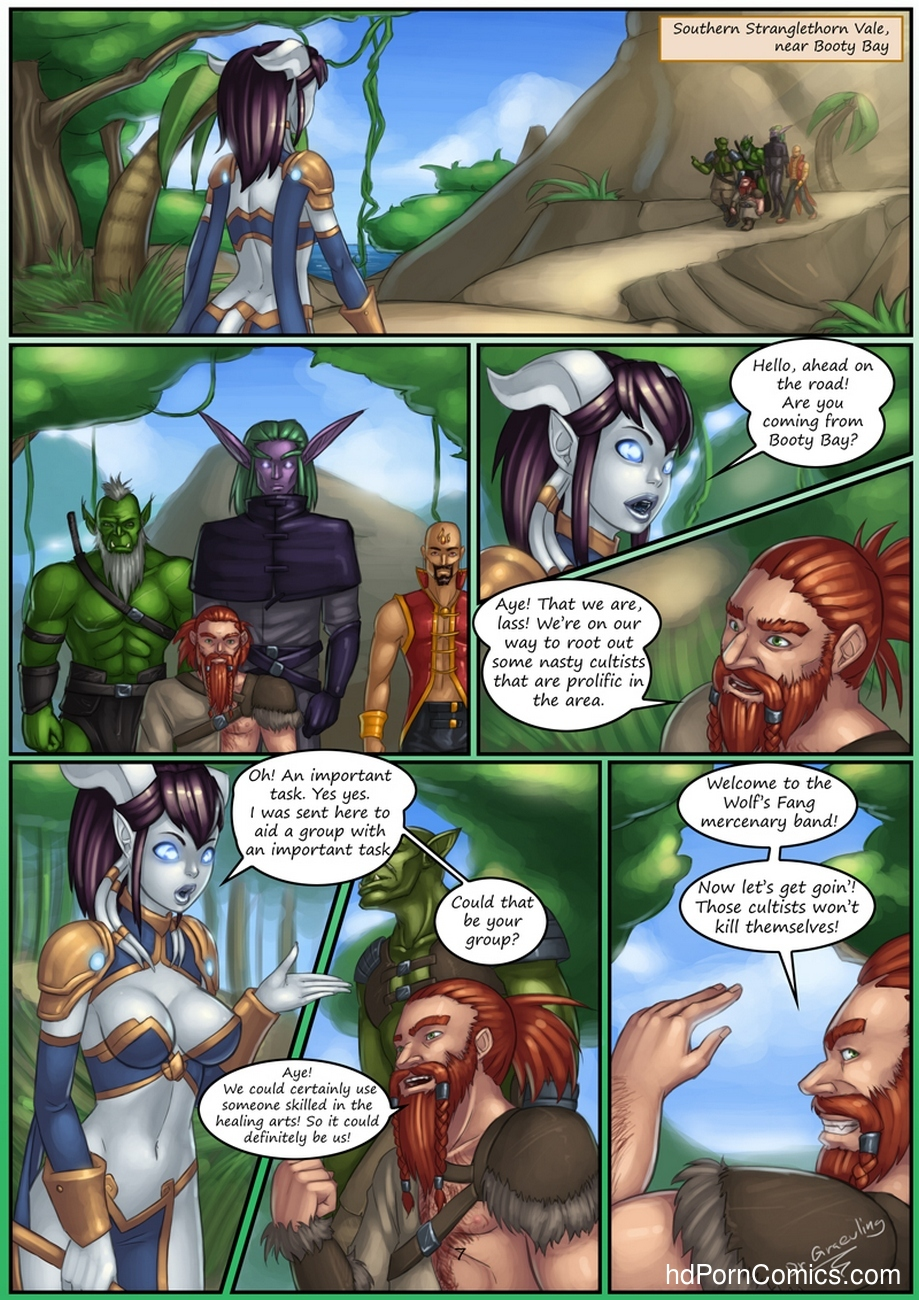 Epic Journeys & Random Encounters 2 - Booty Bay Call 8 free sex comic