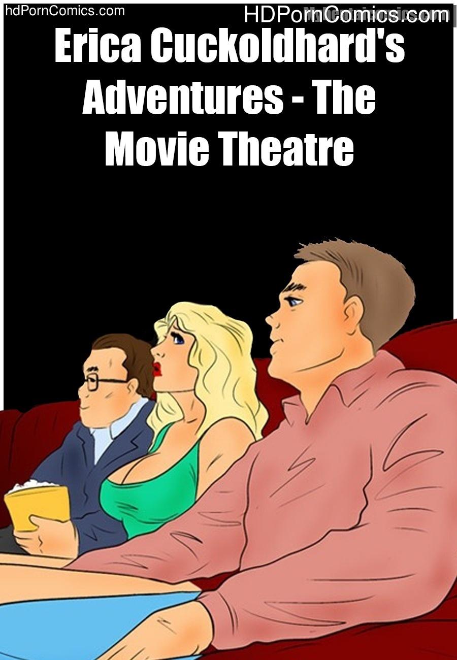 erica cuckoldhard's adventures - the movie theatre sex comic - hd