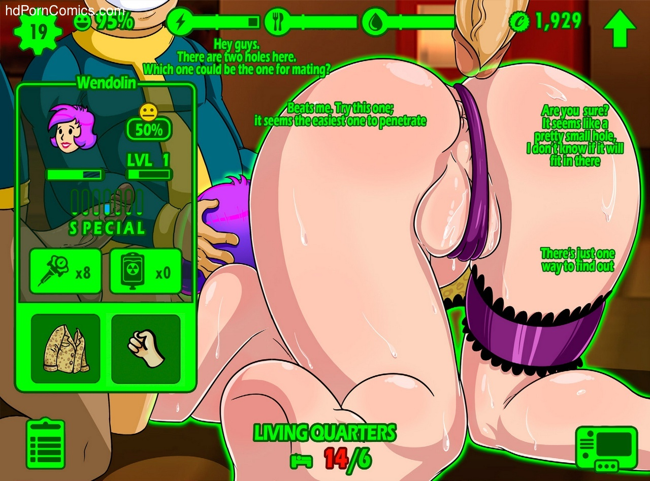 Fallout repopulation comic
