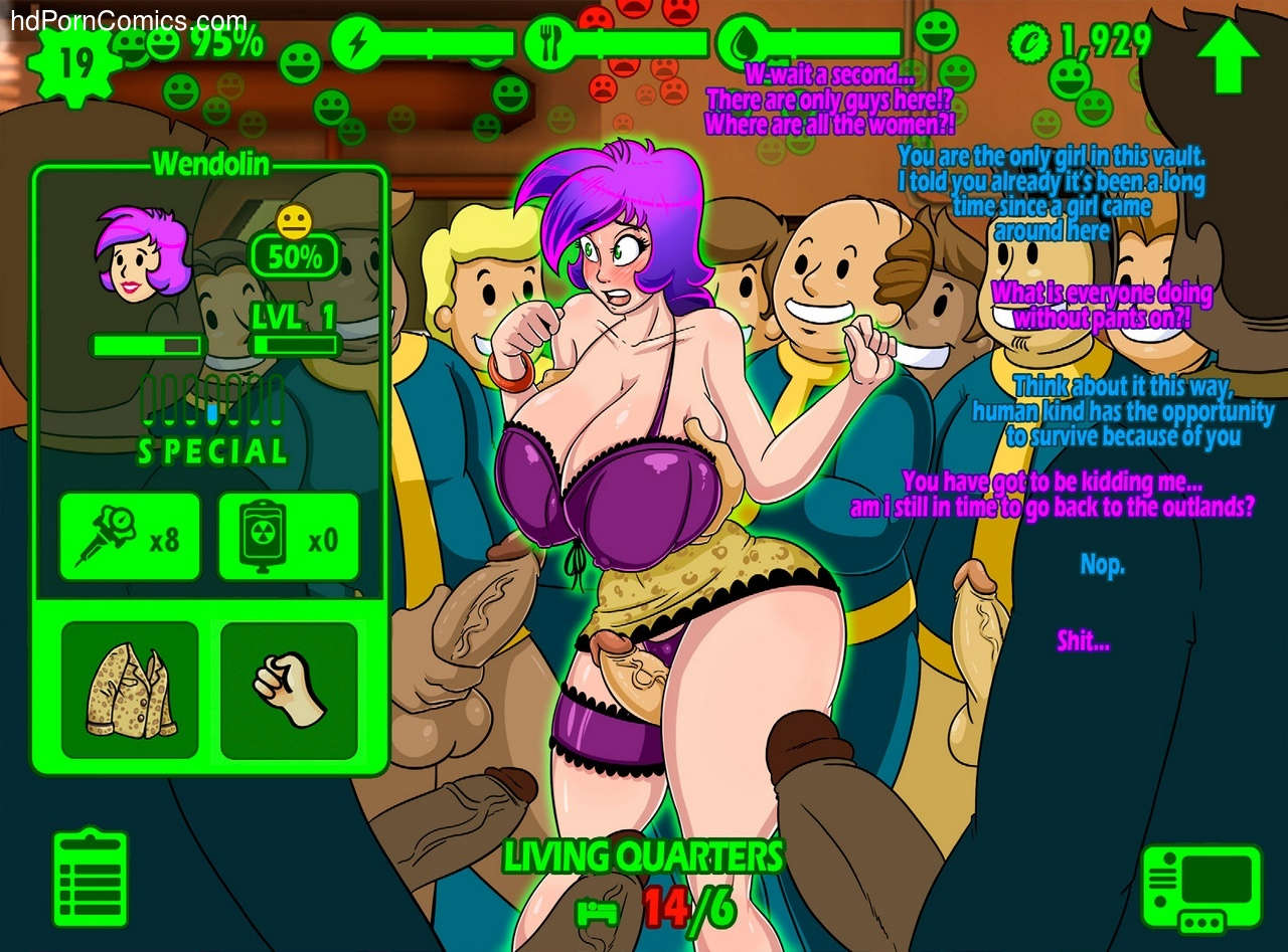 Fallout Repopulation 6 free sex comic