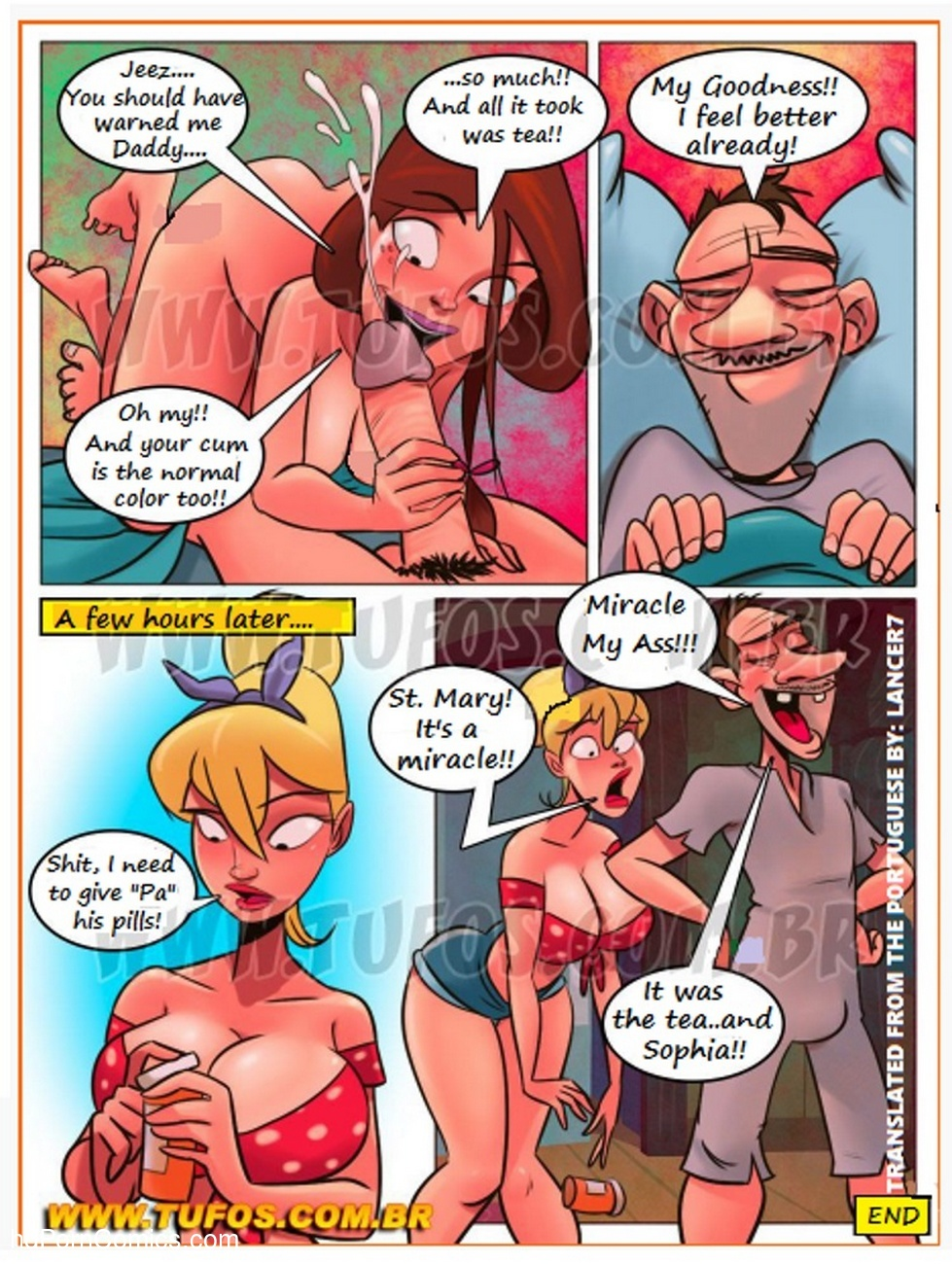 Familia Caipira 1 – Daddy Caught Malaria Sex Comic