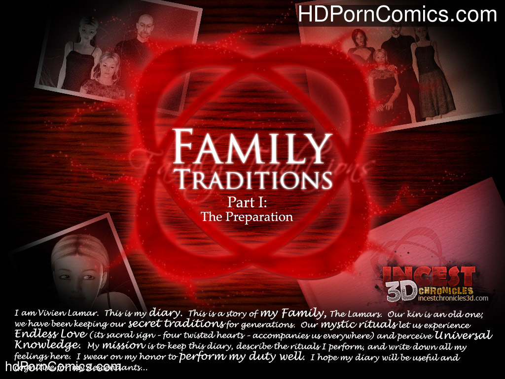 Family Traditions 1- free Cartoon Porn Comic