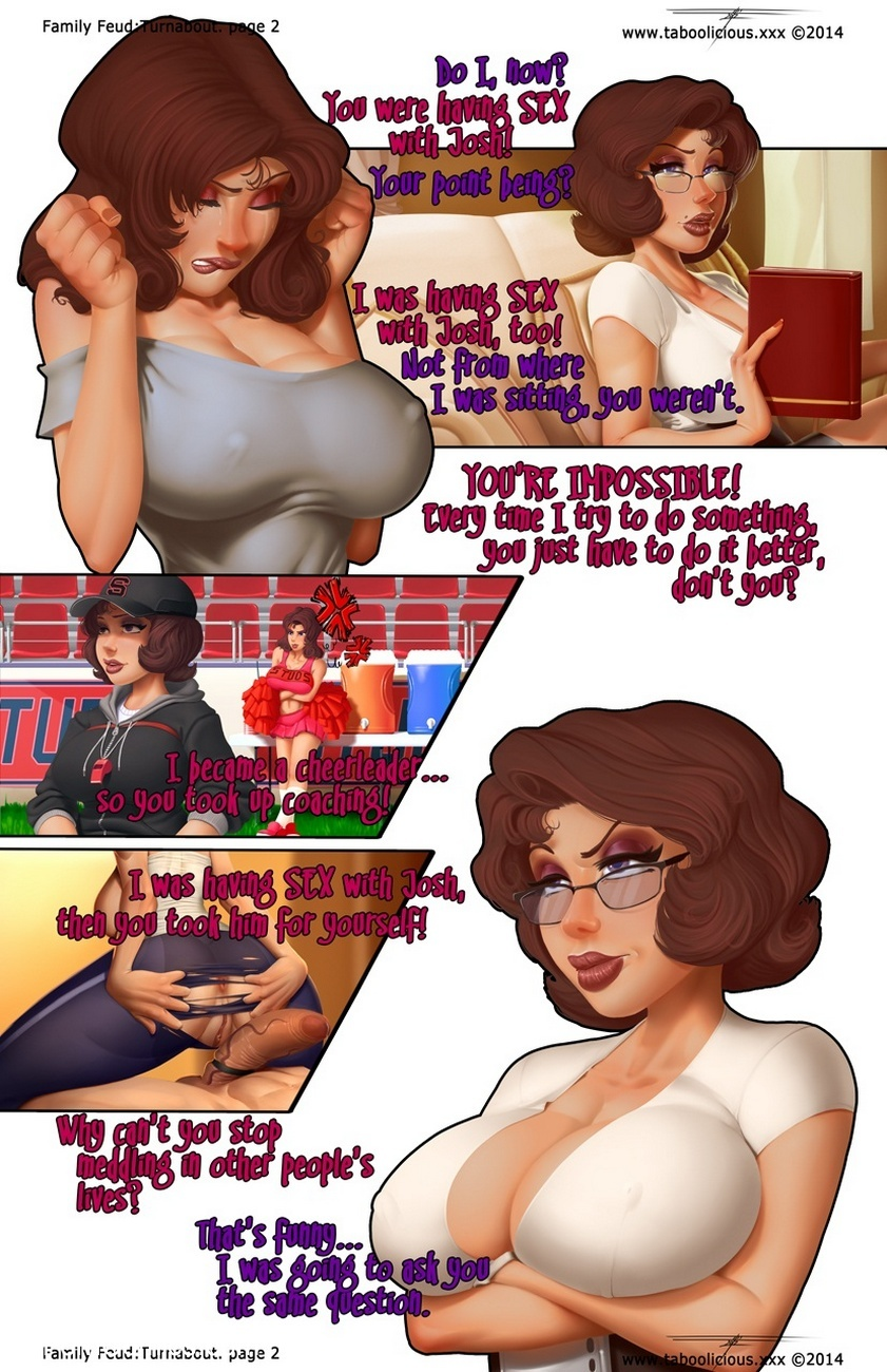 Family Feud 2 - Turnabout 3 free sex comic