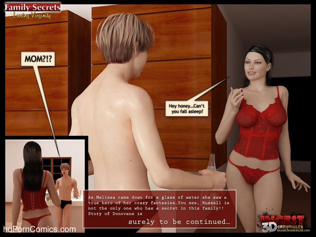 Family Secrets – Loosing Virginity Sex Comic