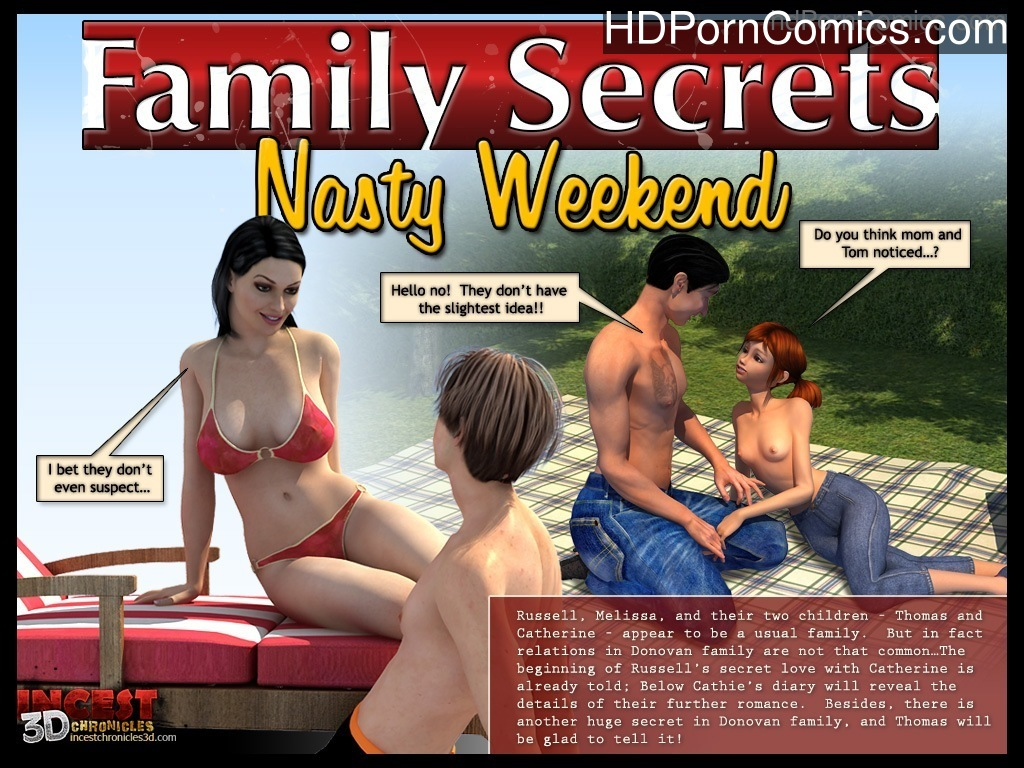 Family Secrets – Nasty Weekend Sex Comic