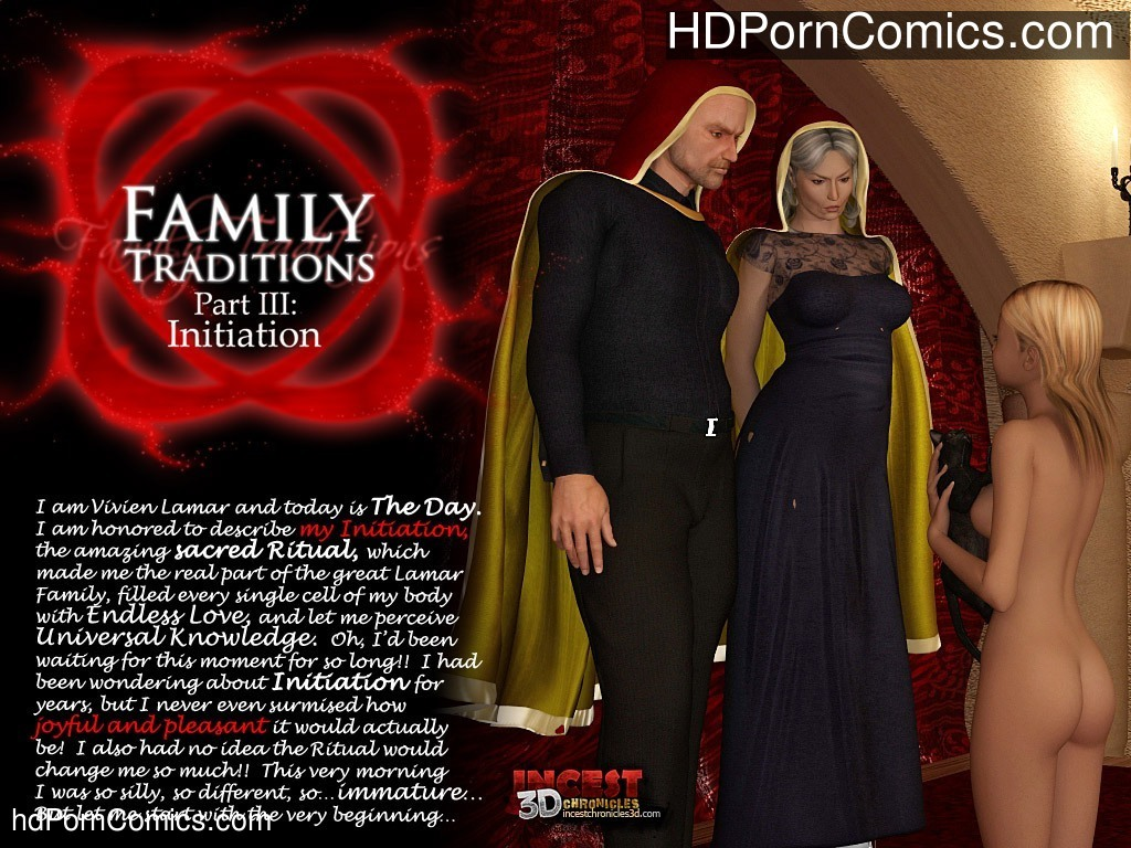 Family Traditions 3 – Initiation Sex Comic