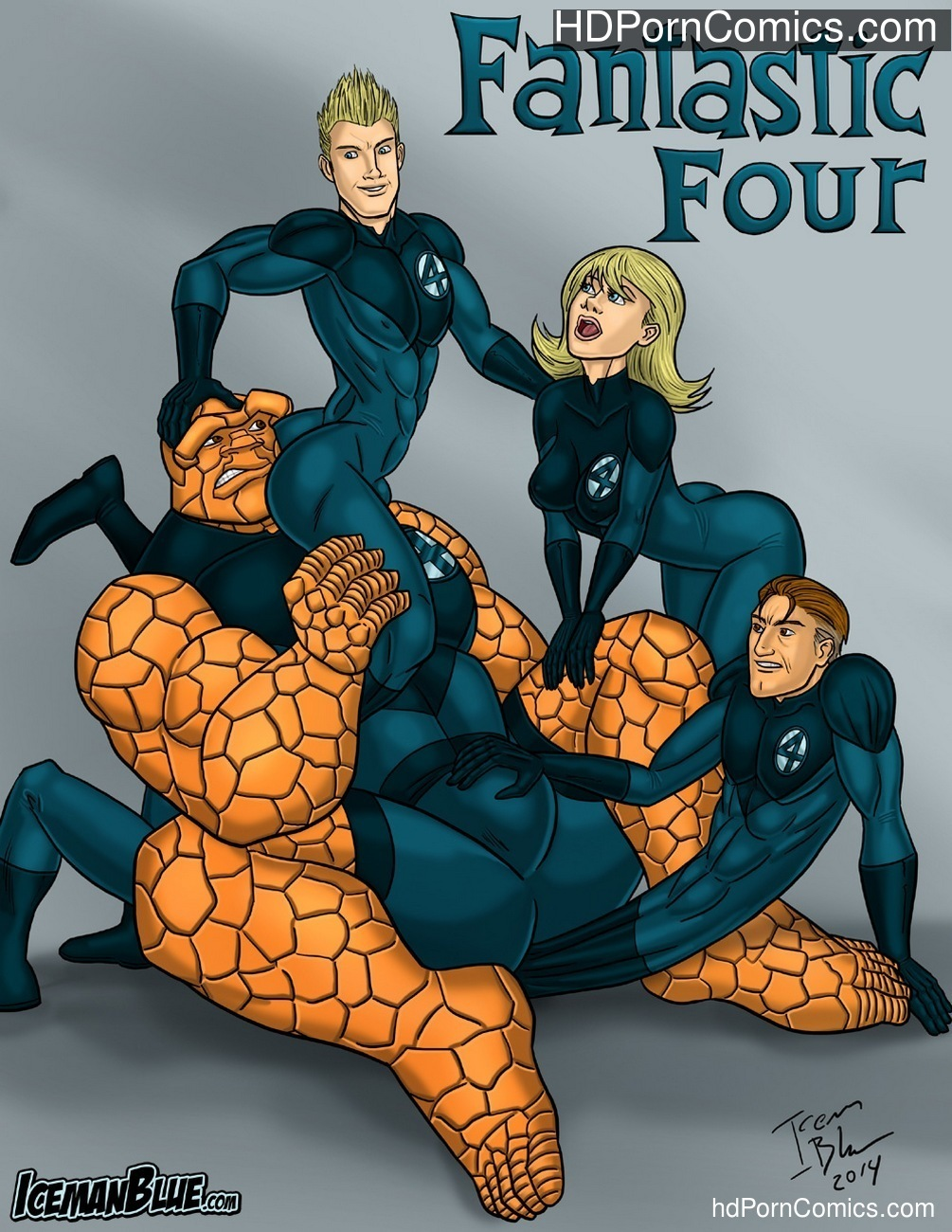 Fantastic Four Sex Comic