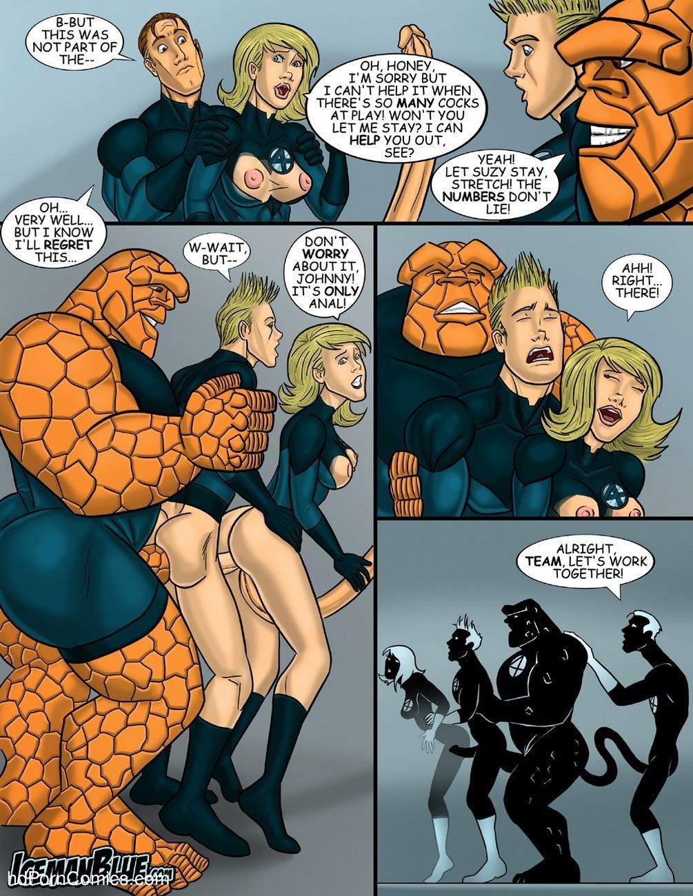 comic porn Fantastic Four gay