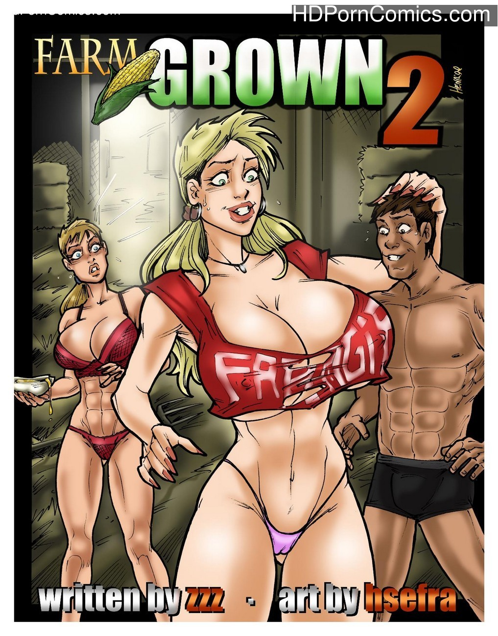 Farm Grown 2 Sex Comic