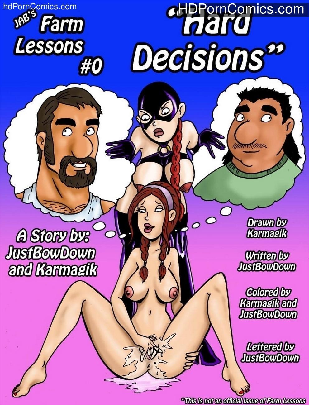 Farm Lessons 0 - Hard Decisions 1 free sex comic