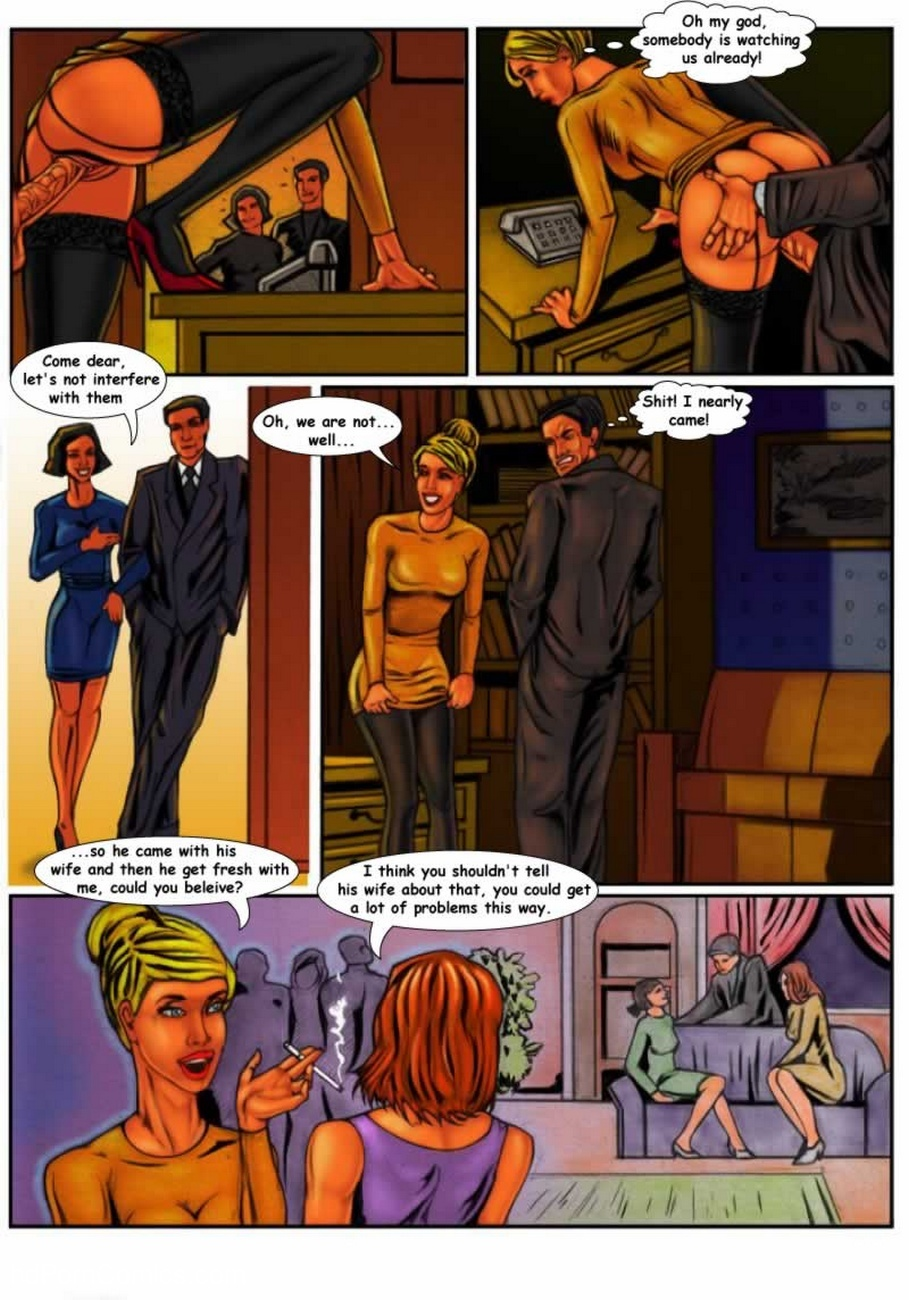 Female Friendship 4 free sex comic