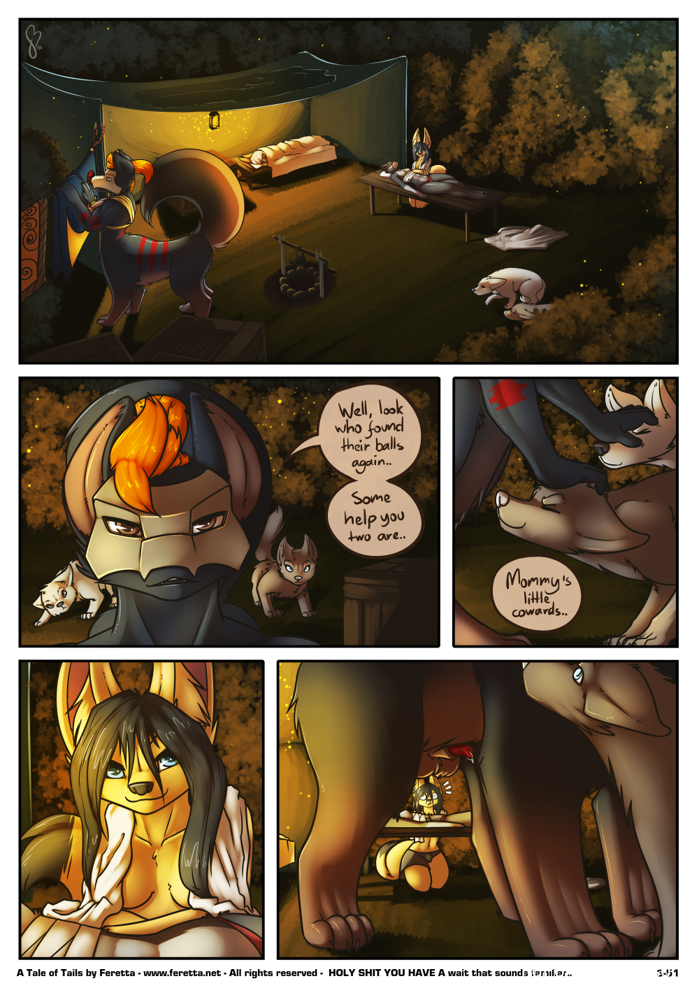 Feretta- A Tale of Tails 3 free Cartoon Porn Comic