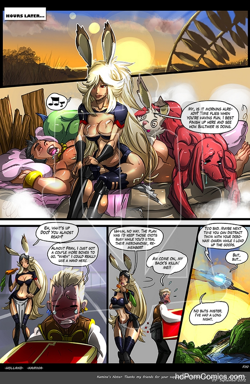 Final Fantasy XXX Sex Comic