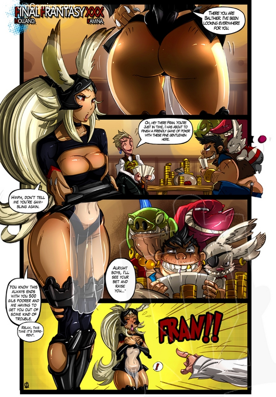 Final Fantasy XXX 2 free sex comic