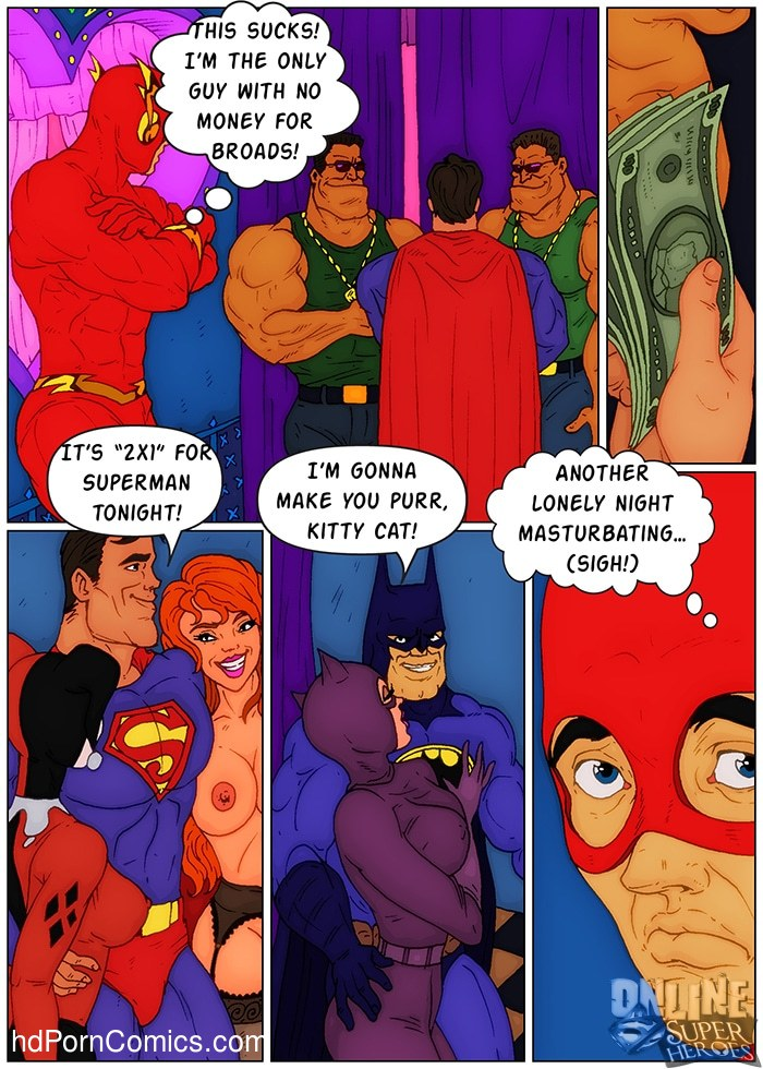 Flash in Bawdy House (Justice League)2 free sex comic