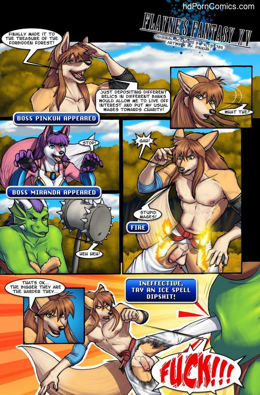 Flayne's Fantasy XV 2 free sex comic