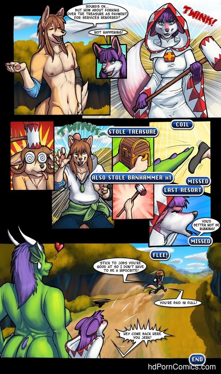 Flayne's Fantasy XV 8 free sex comic