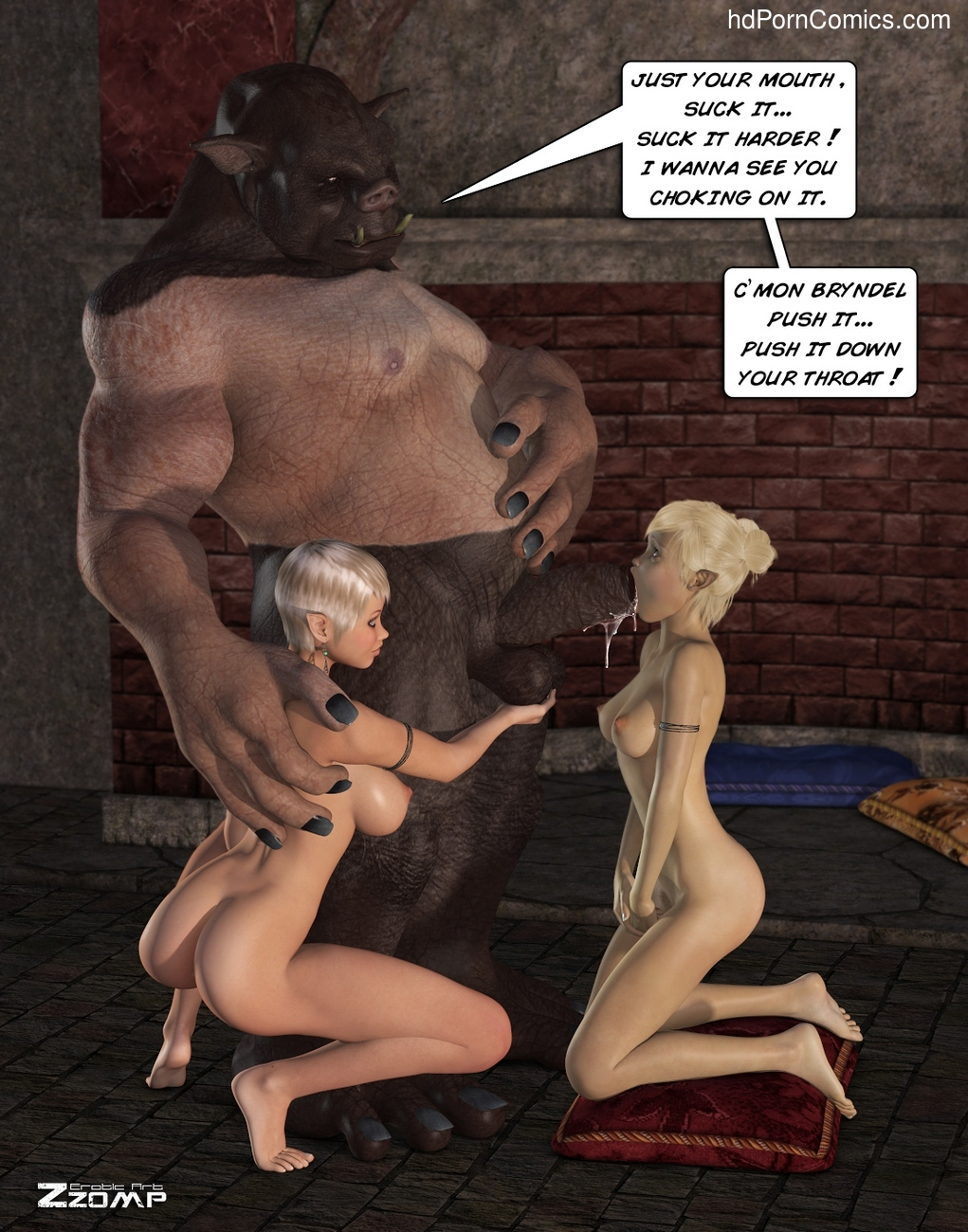 Forging A New Alliance 5 free sex comic